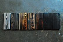 """Obsession: Shou Sugi Ban / """"Devised as a way to make wood less susceptible to fire and to keep away insects and rot, this longstanding Japanese method involves torching your building materials. The results are long lived and hauntingly beautiful. And the good news is that charred wood is now widely available for domestic use."""" Remodelista / by Mary Adams"""