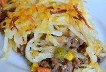 Casserole Recipes / A variety of casserole recipes including casserole recipes for dinner, healthy casserole recipes and casserole recipes to freeze.