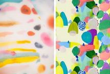 color & texture / Color, hues, bright, colorful, color palette