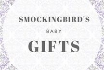 Smockingbird's Baby / Baby gifts available at Smockingbird's Unique gifts & accessories, LLC