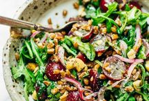 recipes for salads! / by Heather Zweig