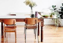 interiors that are dining spaces! / by Heather Zweig