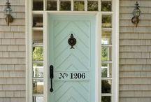 Home Decor {Porches & Front Doors}