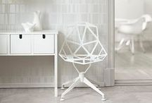White Chair | Chair Design / Find some great white chair ideas for your home decor.