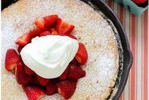 Berry and Fruit Recipes / Strawberry recipes, raspberry recipes, blueberry recipes, blackberry recipes, and cherry recipes. Fruit recipes.