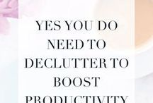 be productive / Tips to help you be productive and get more done for your business!