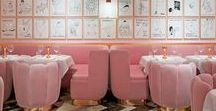 Bar/Restaurant Design by India Mahdavi / Some bar and restaurant suggestions by the top designer India Mahdavi.