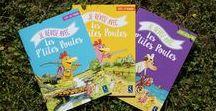 """Les P'tites Poules ! - Cahiers d'activités / """"Je révise avec les P'tites Poules"""", c'est une série de cahiers  des édtions Retz destinés aux enfants du CP au CE2, pour revoir le programme de l'année tout en s'amusant !"""