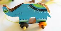 Reuse with kids / Easy reuse and upcycling projects.