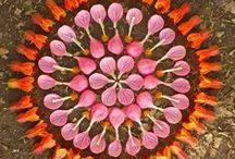 FLOWER MANDALAS / by Karla Conceptual Event Experiences