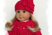 American Girl Dolls: Crochet, Knit, Sew and Inspiration etc.... / by Karen D