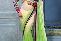 Designer and Party wear Sarees / Collection of designer sarees from Zohraa.com