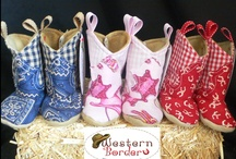 Western Baby Cowboy Boots