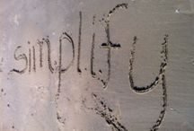 Simplicity / by Trista