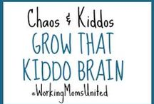 C&K Grow that Kiddo Brain! Educational / A collection of helpful tools, resources, lessons, tips and tricks, products and other fun ways to help brain development and learning in your kiddos.