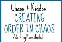 C&K Creating Order in Chaos / Tips and tricks to better time management, overall organization in your work environment and home life, and how to create order in chaos.