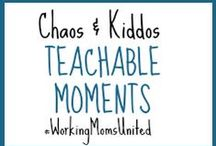C&K Teachable Moments - Life / A resource library offering encouragement in purposeful parenting, tips and tricks, life knowledge and teachable moments, and behavioral/discipline techniques so life can be more manageable as a working mom.