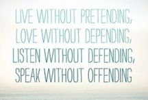 Words of wisdom / by Jennifer McCormick