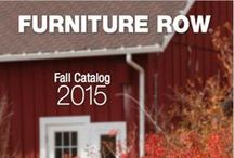 FALL CATALOG 2015 / There's a coolness in the air. Shop the Furniture Row Fall Catalog for 2015 with sale pricing on autumn looks you'll love through 11/19/2015. / by Furniture Row