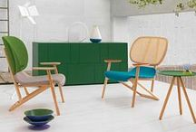 Furniture / Collection of cool pieces of furniture, including do-ups,  and ideas for arranging a room/garden / by Joanna Sims