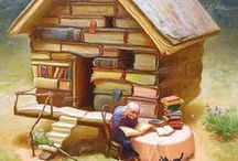 Bookworm / Books, books, and more books.  / by Mel