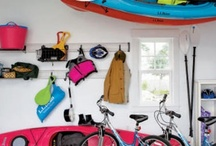 Home - Garage storage / by Sarah Hunt
