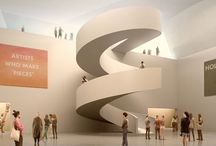 Modern Stairs / Modern Architecture - Stairs, Interiors, renders and proposals / by Mau Nuncio