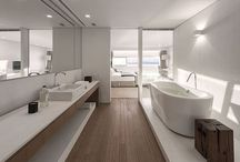 Bathrooms / Architecture - Homes interiors, bathrooms / by Mau Nuncio