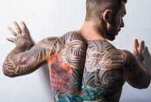 Men's Style + Tattoo / Men's Fashion - Inspiration for tattoos / by Mau Nuncio