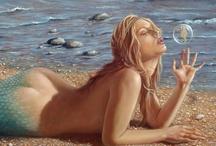 Beauty and the Sea / ...mermaid... / by Teresa....a seeker