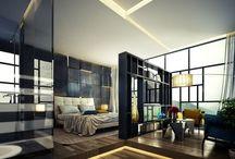 Bedrooms / Architecture - Homes interiors, bedrooms Design / by Mau Nuncio