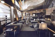 Restaurants / Architecture - Public Spaces, Restaurants & Renders, Interior Design / by Mau Nuncio