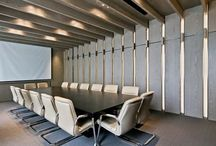 Modern Offices / Architecture - Interiors, Offices, study rooms / by Mau Nuncio