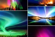 Heavenly Lights / Aurora Borealis / by Teresa....a seeker