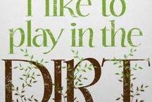 DIRT GIRL / How Does You're Garden Grow... / by Teresa....a seeker