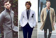 Men's Style + Blazers / Men's Fashion - Blazers & Coats / by Mau Nuncio