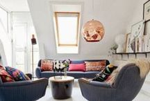 Inspirational living spaces... / A collection of living spaces for ideas and as examples of ways of decorating that I perhaps wouldn't choose... / by Joanna Sims