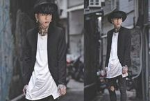 Men´s Fashion / EuroAsiaBlack Style Gang / Asia and Europe Style Gang Bam Bam / by - FransGglez -