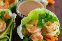 Seafood / Fish, Shrimp, Tuna / by Thuy Smith Outreach International
