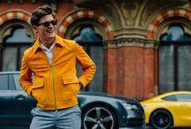 Men's Style + Colors / Men's fashion - Colors, outfits / by Mau Nuncio