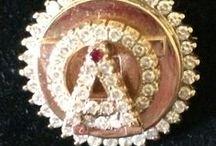 AOII badges