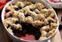 Blackberry Recipes / Late July, early August our blackberries in Washington are ready for picking!  Whether it be a pie, cobbler or syrup there are LOTS of things delish when it comes to that wild, beautiful berry.  Check it out. - Shellie Hart / by Warm 106.9