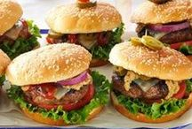 Cheeseburger, Cheeseburger, Cheeseburger! / Just how crazy and creative can we get with the all American marriage of beef and cheese?  See for yourself:)  Warning though, some may make you drool. - Shellie Hart / by Today's Warm 106.9