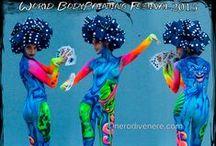 Body Painting / #bodypainting #body #art #airbrush