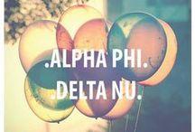 Alpha Phi / by Whitneigh Kinne