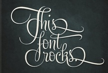 Typography / by Rosemary Mazzeo