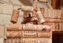 Wine cork art / DIY projects and interesting uses for wine corks