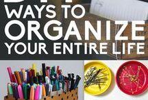 organize / by Jackie Densford