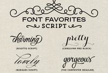 Fonts, downloads, misc