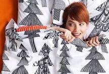 Marimekko Inspired Christmas Board  / Black & White...just because / by Maja Gencic